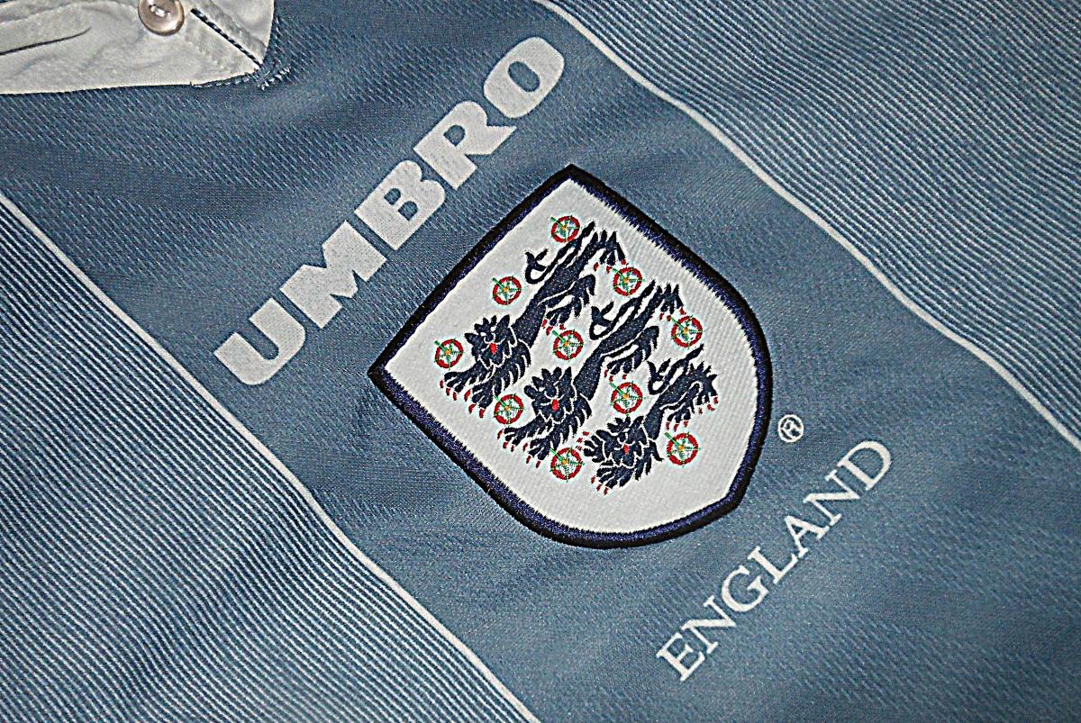 Classic Kits: Grey England at Euro '96