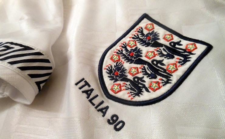 England, Three Lions, Italia 90, Umbro