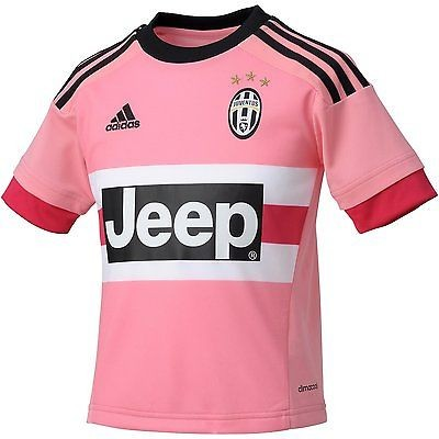 Juventus, pink, away shirt