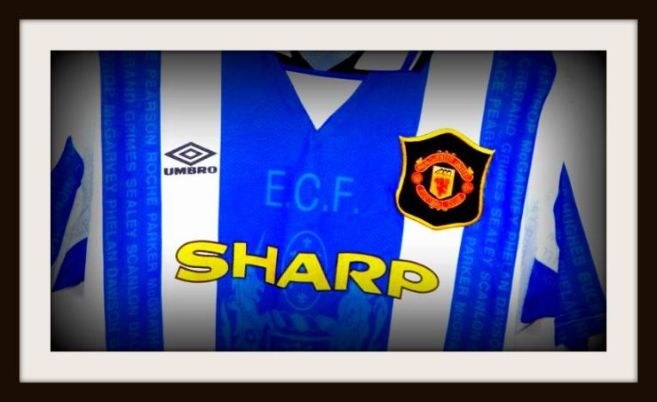 1990s, Manchester United, away kit, Umbro