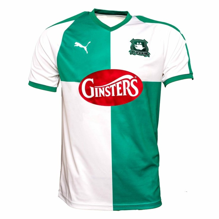 Plymouth, away kit