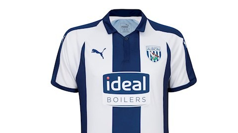 West Brom, home, kit, puma