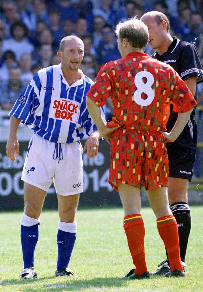 Bristol Rovers, Tesco, Shirt, 1996/97, home, Ian Holloway