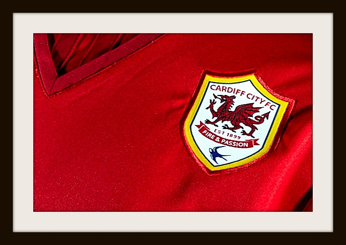Cardiff City, Red, Home, Kit