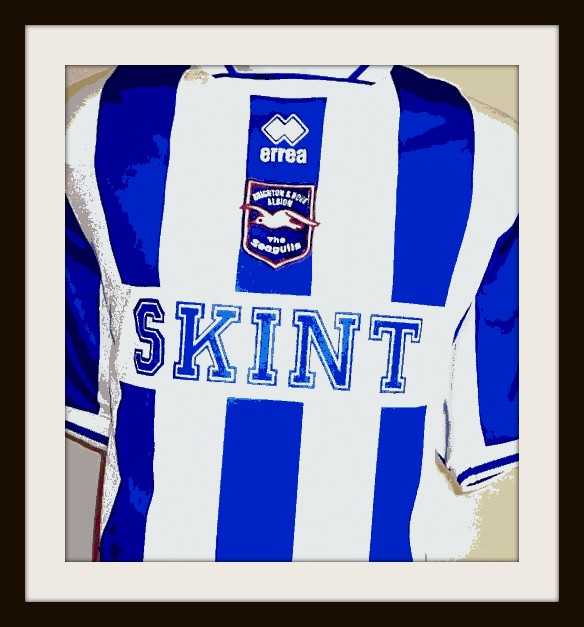 Brighton, Skint, Fatboy Slim, Football Kit, Seagulls