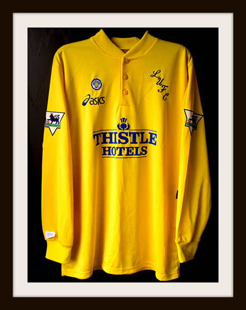 Leeds United, Away Kit, Asics, Yellow