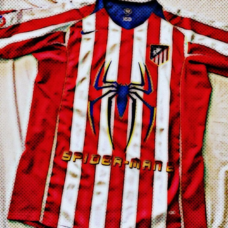 Atletico Madrid, Spiderman 2, Nike, Kit, Columbia Pictures