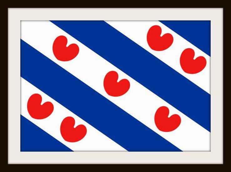 Frisian flag, Heerenveen, Friesland
