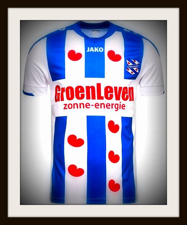 Heerenveen, home, kit, Jako, 2018-19