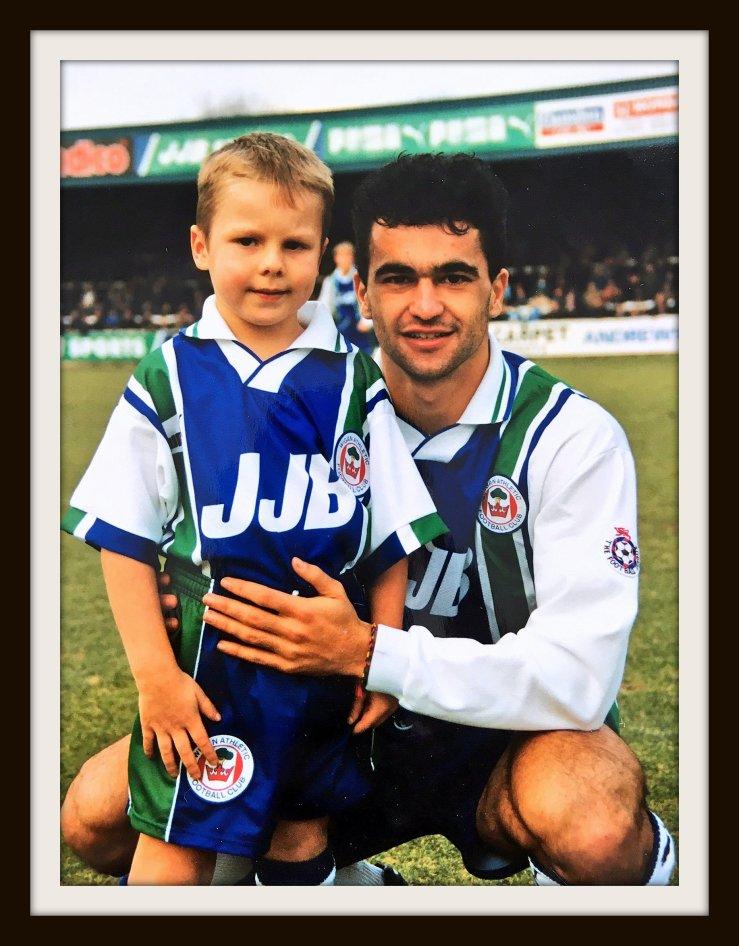 Wigan, David Sharpe, Roberto Martinez