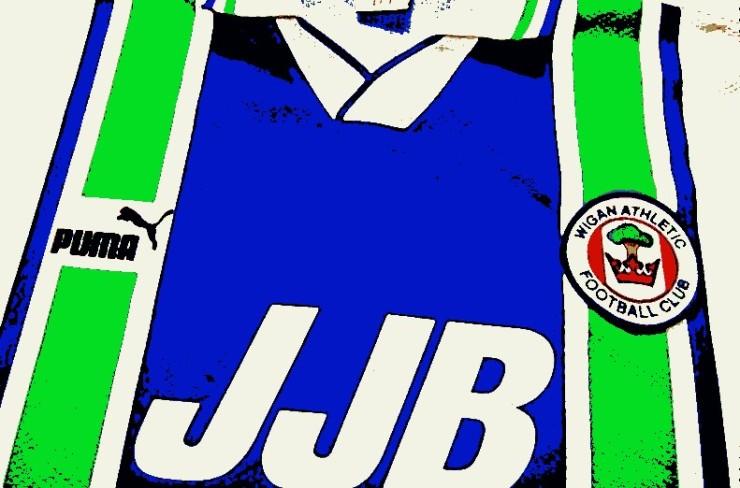 Wigan Athletic, JJB Sports, Puma, 3 Amigos, Roberto Martinez, Dave Whelan