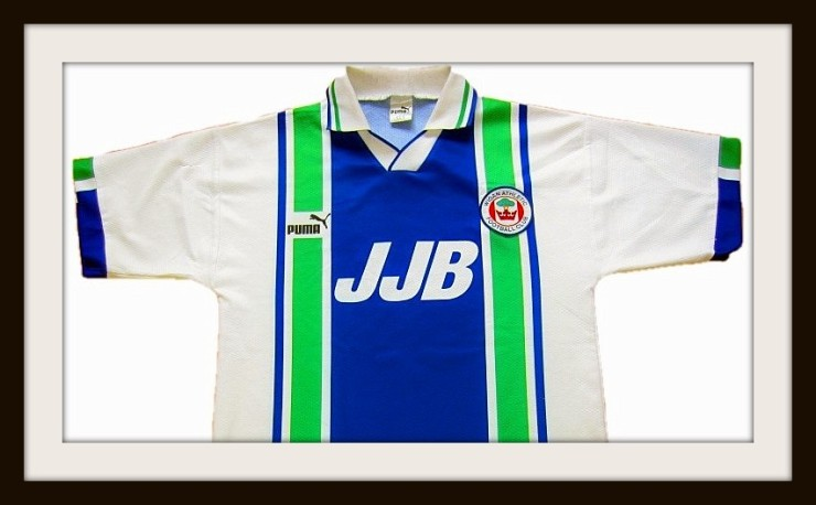 Wigan Athletic, JJB Sports, 1995, 1998, Puma