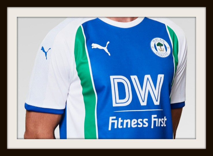 Wigan Athletic, Puma, Home kit