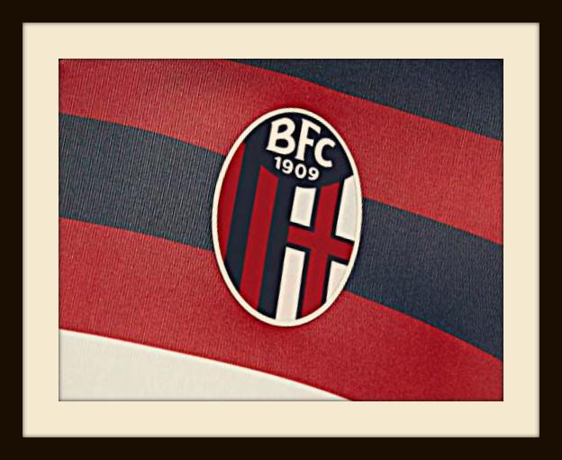 Bologna, badge, rossoblu, crest