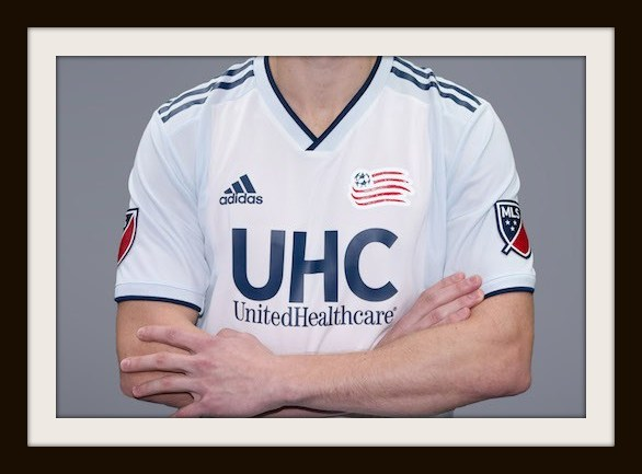 New England Revolution, Colonial kit, Adidas, MLS