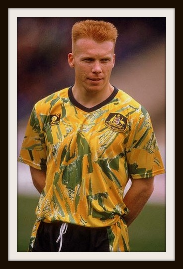 Robbie Slater, Socceroos, Spew Kit
