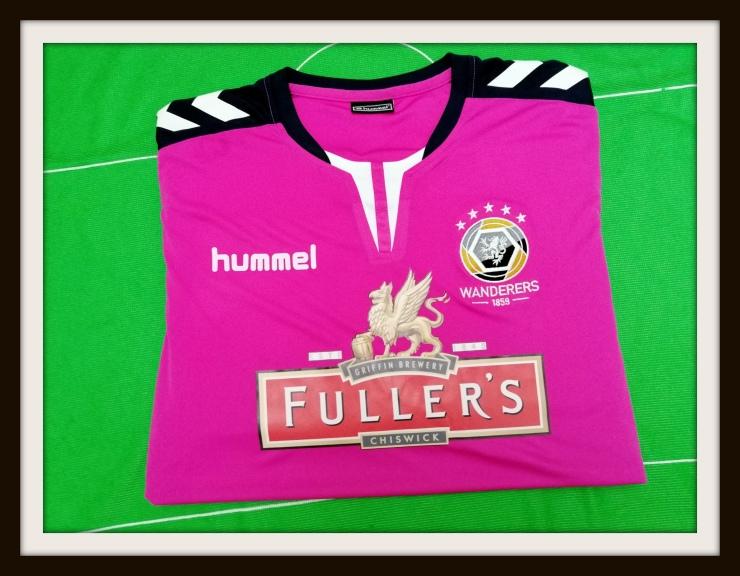 Wanderers, away, kit, Hummel, Fuller's