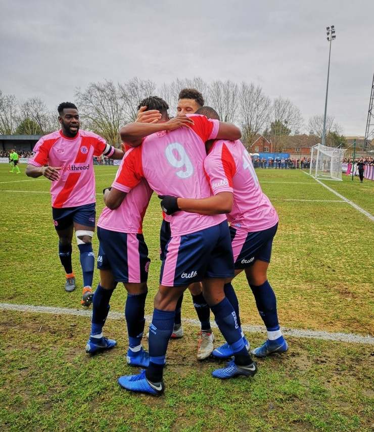 Dulwich Hamlet players, Redthread kit