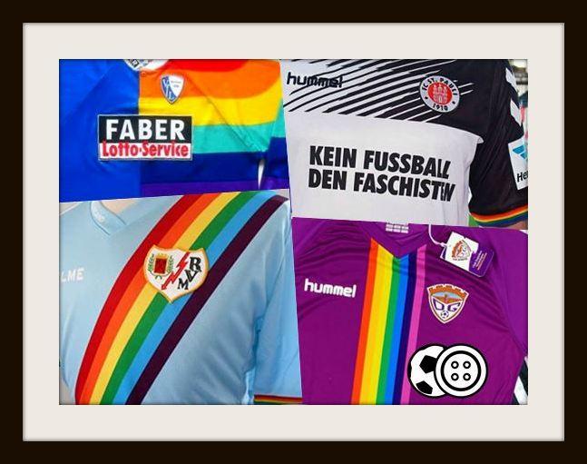 Rainbow, Kits, VfL Bochum, St Pauli, Rayo Vallecano & Deportivo Guadalajara
