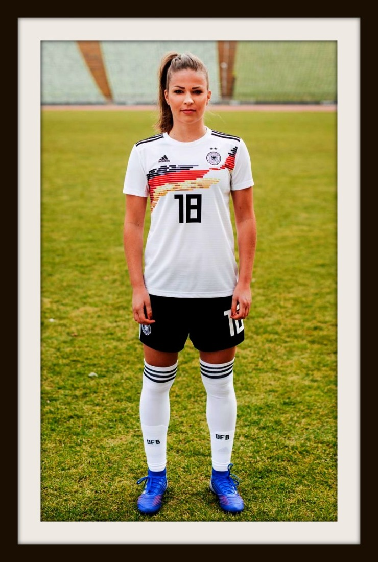 Germany Women's World Cup Kit by Adidas