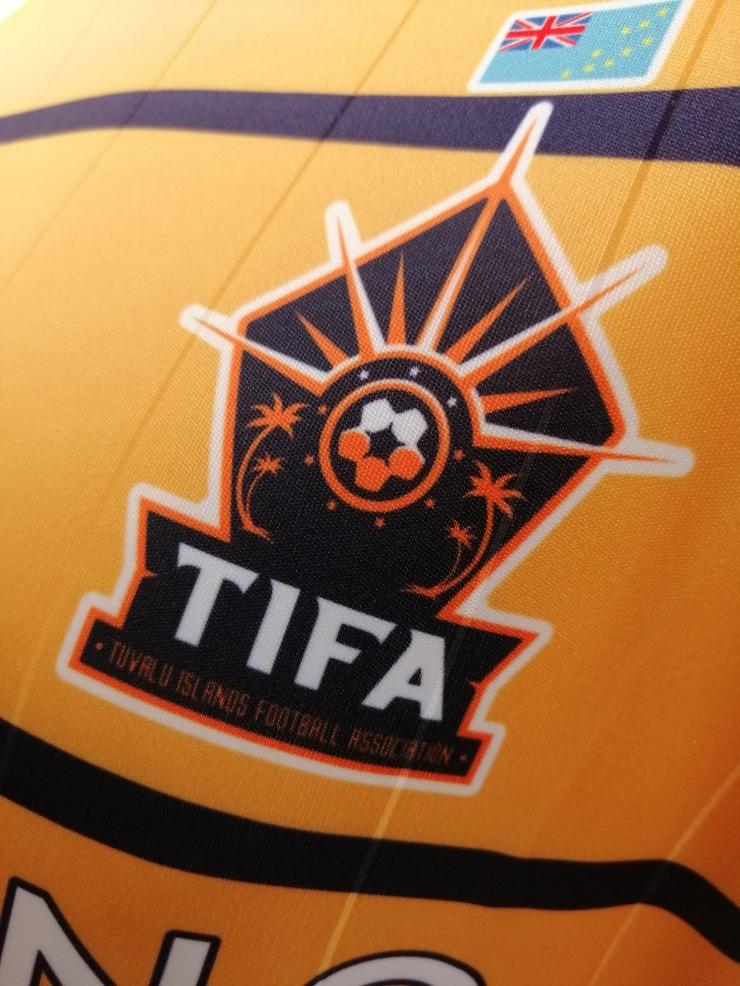 Tuvalu, Soccer, Badge