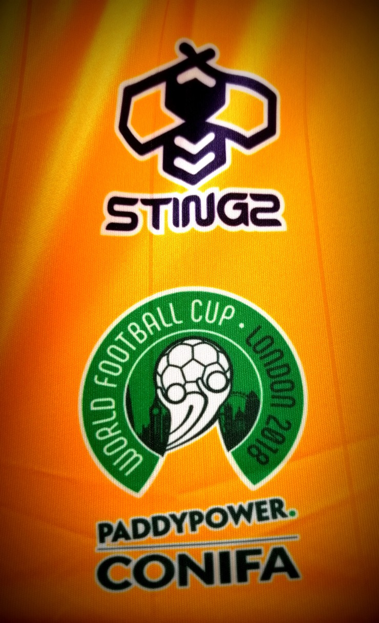 CONIFA, Tuvalu, Shirt, Stingz, Paddy Power