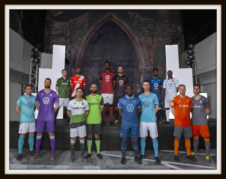 Canadian Premier League kits