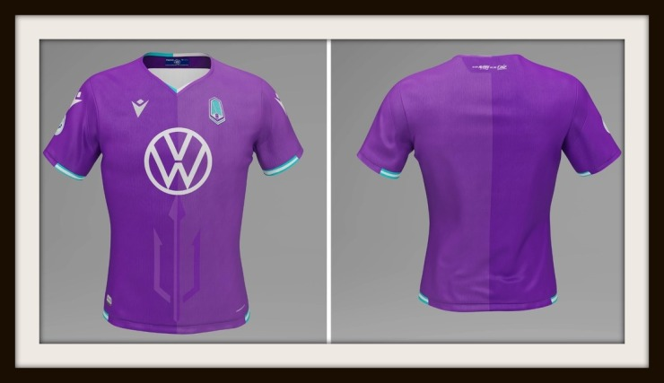 Pacific FC, Purple, Macron, Home