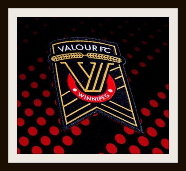 Valour, CPL, Crest, Winnipeg