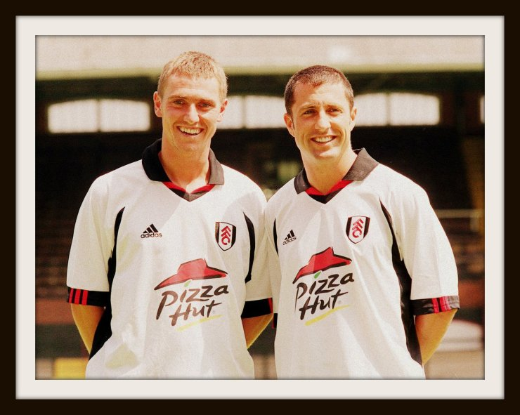 Fulham, Pizza Hut, Adidas, Home Shirt
