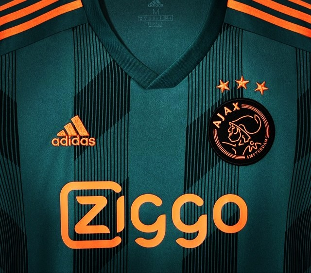 Ajax, Ziggo, Adidas, green, away