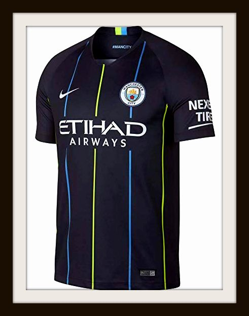 Manchester City, Away, Kit, 2018-19, Nike