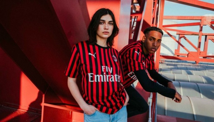 Milan, 2019-2020, Home, Kit, Puma