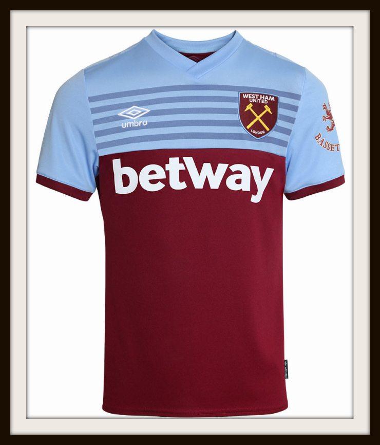 West Ham United, Home Shirt, Umbro