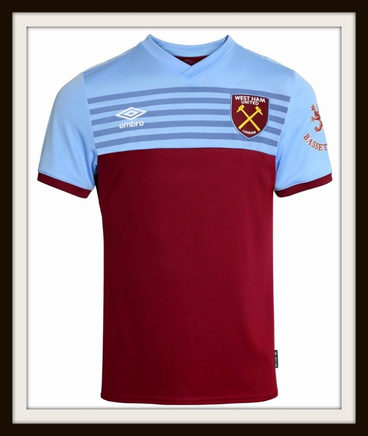West Ham United, 2019-2020, Umbro, Home