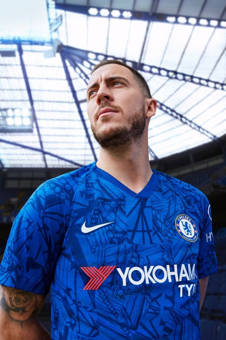 Eden Hazard, Chelsea, kit