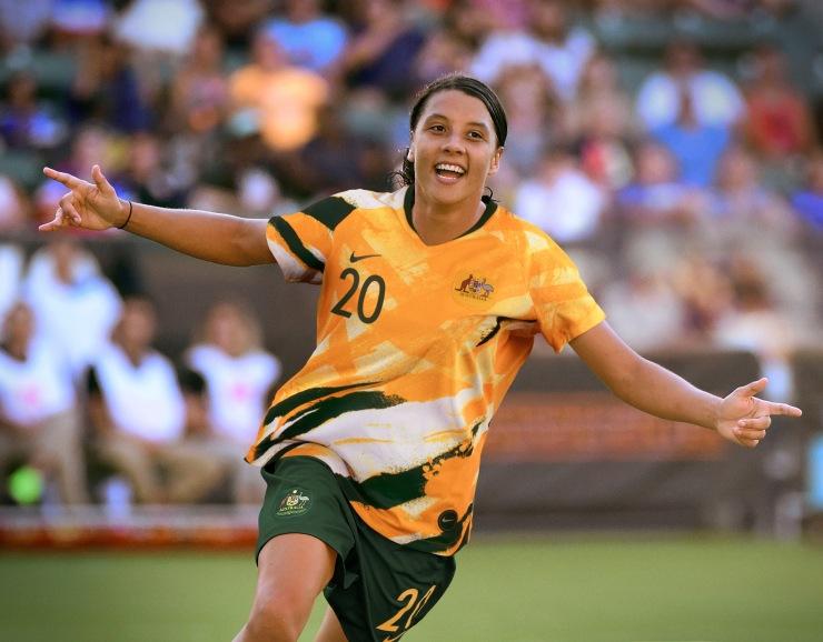 Sam Kerr, Australia, Nike, Kit, Matildas