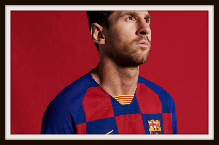 Leo Messi, Barcelona, Check, Kit