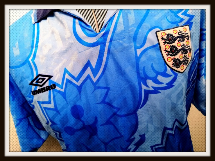 England, Three Lions, Umbro, Blue