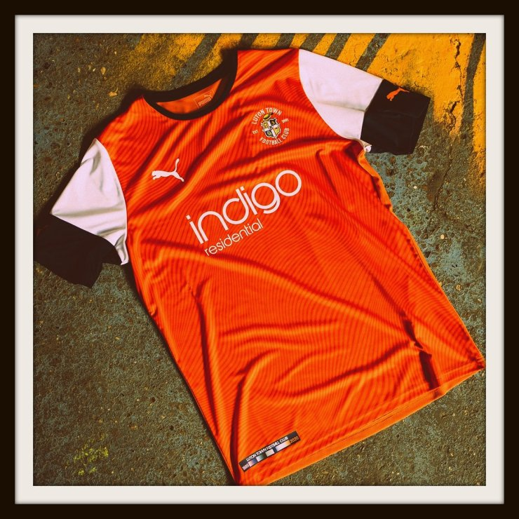 Luton Town, Home, Kit, Puma, 2019-2020, New