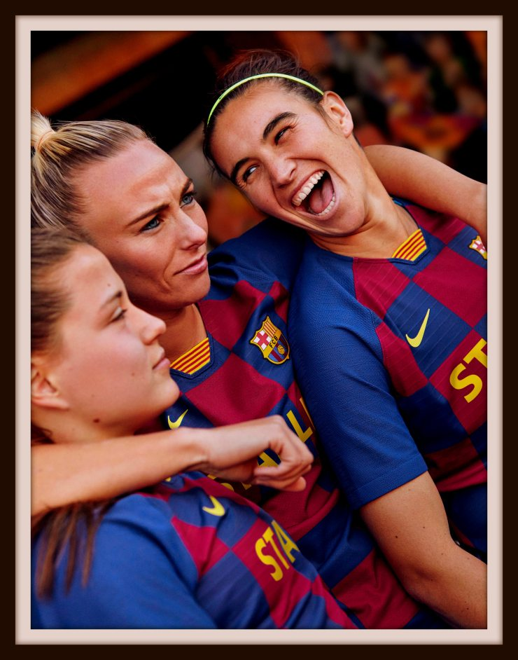 FC Barcelona, Femeni, Kit, Nike, 2019-20