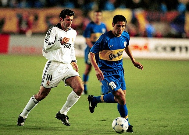 Riquelme, Boca, Real Madrid, 2000, World Champions