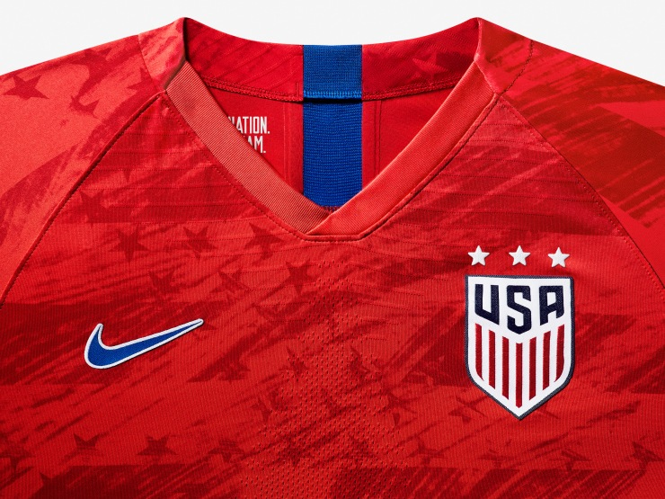 USA, away, 2019, Women's World Cup, Nike