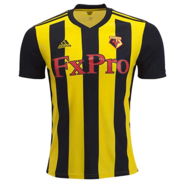 Watford, Adidas, 2018-19, Home, Kit