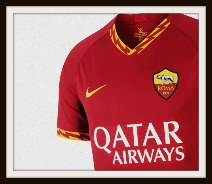 AS Roma, home, Kit, Nike