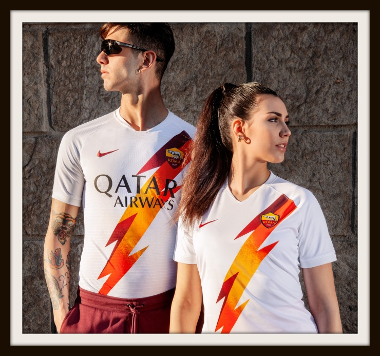 Roma, away, Nike, lightning bolt, Jupiter