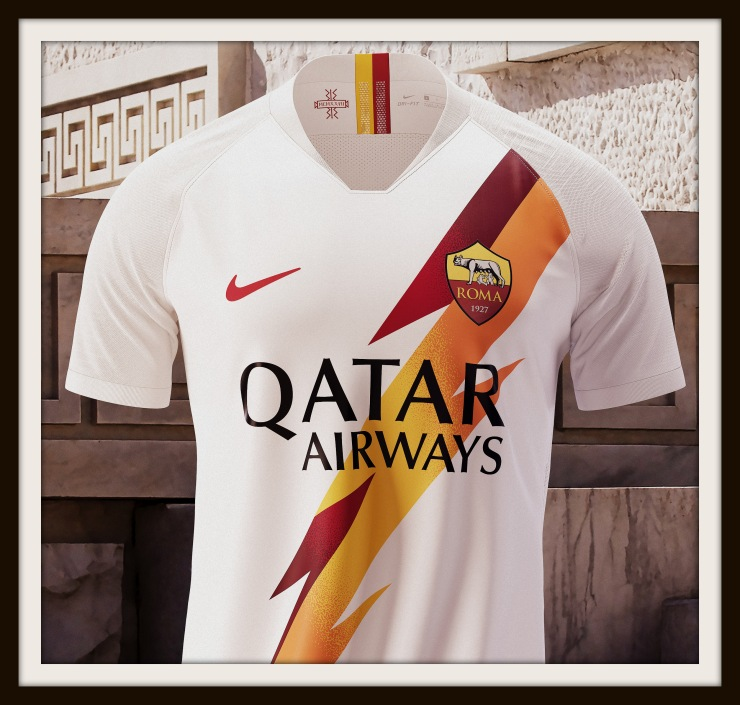 Roma, away, Nike, Jupiter, lightning