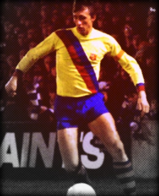 Johan Cruyff, Barcelona, away kit