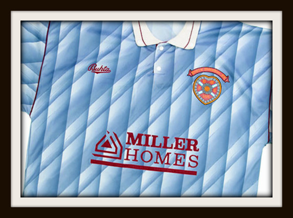 Hearts, Bukta, Miller Homes,