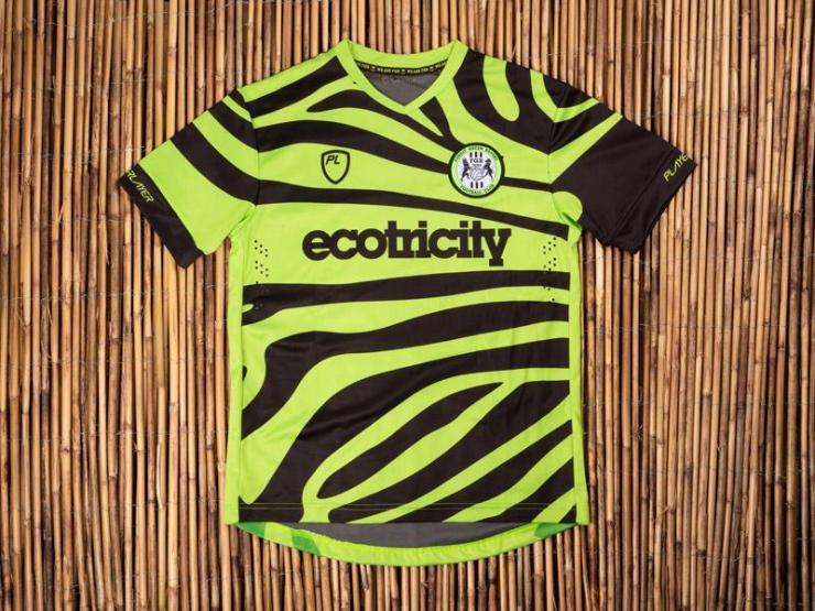 Forest Green Rovers, PlayerLayer, bamboo, zebra, camouflage